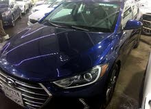 Hyundai Elantra 2018 For sale - Blue color