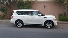 Infiniti QX80 car is available for sale, the car is in Used condition