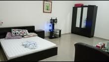 سرير لشخص واحد في غرفة لشخصين فقط على كورنيش عجمان
