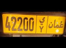 رقم متناسق وجميل   42200