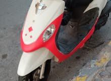 دراجه ياباني 100سي سي عداد سرعه 80 بحالة الوكاله سريعه وقويه جدا