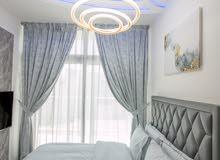 دبي داماك هيلز اكويا تاون هاوس 3 غرف مفروش سوبر لوكس مع تراس كبير - ايجار شهري شامل