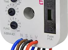 Fast solution for exchanging standard wall-switch for a switch controlled by time