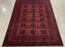 afghan red carpet size 150x200 cm