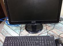 كمبيوتر LG بشاشة فيلبس