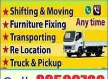 Qatar House shifting moving Carpenter and Transportation Company