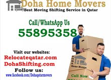 doha Qatar house moving shifting