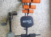 كرسي رياضة متعدد الاستعمالات السعر 50 وبي مجال