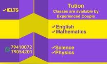 experienced tutor