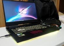 "ASUS ROG GAMING LAPTOP I7 9th gen 6GB GTX 1660 TI 16GB RAM 512 SSD 120hz 15.6"""