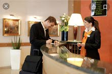 we are seeking for Receptionist with experience in a Hotel
