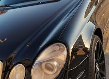 مرسيدس E500 AMG  محول بدي كت 63 2004 للبيع وارد  اليابان