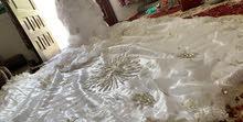 فستان زفاف  مستخدم مره واحده فقط 300ريال قابل