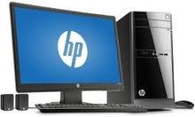 كمبيوتر مكتبي  DESK TOP HP CORI3