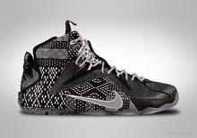 Nike Lebron XII BHM shoes