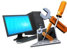 المهندس محمد في خدمتكم لصيانة الحاسبات والكمبيوترات