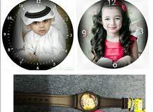 ساعات يد اطفال بالصورة الشخصيية