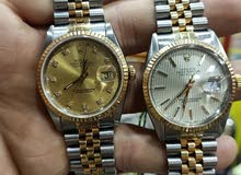 نشترى الساعات الرولكس الملو والاتوماتك  الذهب والصلب