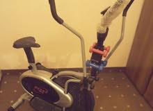 دراجه رياضية شبه جديده