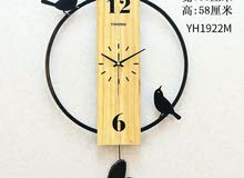 ساعة حائط عدة اشكال مختلفة