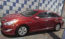 Maroon Hyundai Sonata 2012 for rent