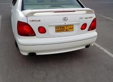 White Lexus GS 1998 for sale