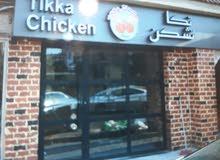 محضر و معلم دجاج تكا و مقبلات هندية