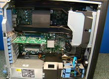 DELL T3600 WORKSTATION XEON e5-2650 كاش 20 ميجا رمات 16 جيجا//للجرافيك