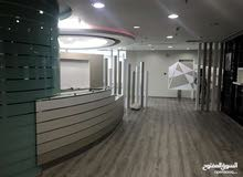 For rent a luxury office in the capital - Qibla - almost 250 m