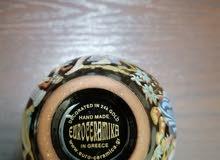 فازا صناعة يدوية يوناني مطلية بالذهب عيار 24 للبيع