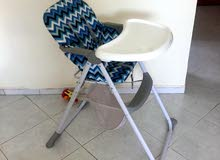 baby chair for sale few used only 150 dhs