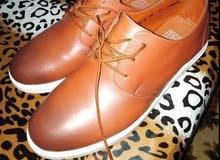 حذاء جلد خامة جيده جدا مقاس 45