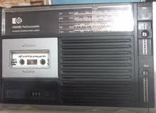 مسجل راديو  نوع نادر جدا وبحالة ممتازة مال اهلنة
