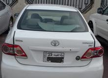 Automatic White Toyota 2011 for sale