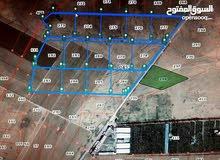 قطعة ارض للبيع 10 دونم المفرق الخالديه بموقع مميز