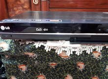 جهاز DVD LG  عرض وتسجيل و فلاش رام فول HD ويوجد جهازتسجيل ابو الهارد الداخلي ..