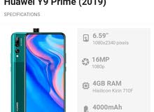 Huawei Y9 prime 128G