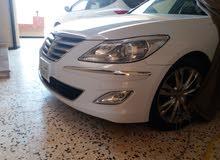 White Hyundai Genesis 2014 for sale