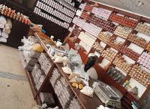 للبيع محل محمص في شارع البدو