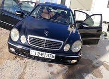 Mercedes Benz E 200 2004 For sale - Black color