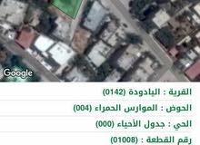ارض للبيع  في منطقة اليادوده بالقرب من ديوان أبناء الكرك