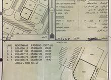 للإيجار ارض صناعيه بالملدة 1100 متر