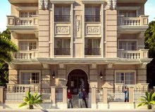 شقة  بفيو مفتوح  للبيع فى الحى الثامن بالشيخ زايد