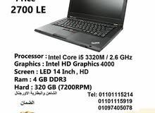 لاب توب*Lenovo Thinkpad T430* كور i5  الجيل الثالث *بشاشة 14 بوصة HD  *رمات 4 جيجا *هارد 320