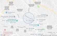 مكتب تجاري فارغ للايجار بجبل الحسين