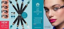 قلم محدد للعين مزدوج