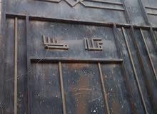 باب حديدي سحاب مستخدم للبيع