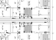 مهندس مدني تصميم انشائي، واشراف على التنفيذ، حصر كميات، شوب دروانج، وتسعير، وتنف