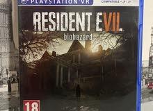 لعبة resident evil 7 : biohazard play station 4