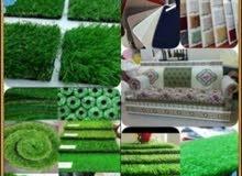 بيع العشب الأخضر والتركيب